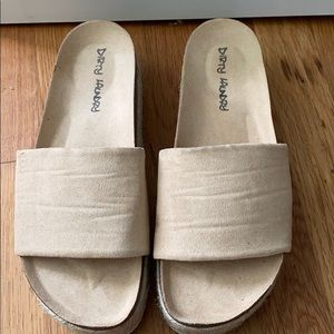 """""""Dirty Laundry"""" Sandals"""